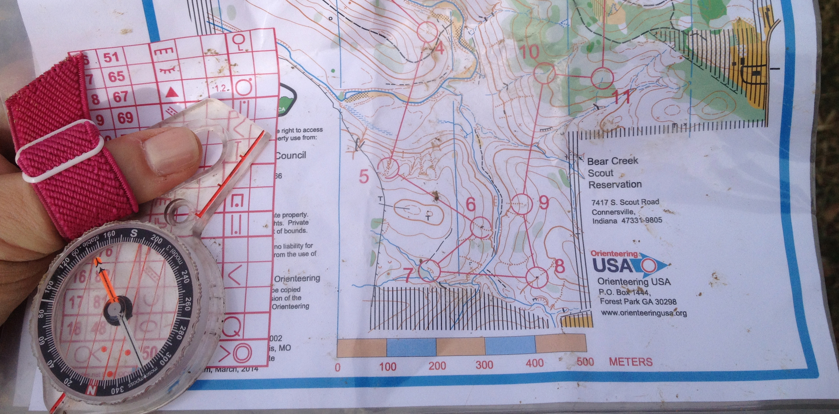 FIND YOUR WAY WITH NORTH TEXAS ORIENTEERING